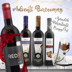 MOKOS_Karácsonyi_Borcsomag_2020_Adventi_BCS_1080x1080_villanyi_borok_redy_kekfrankos_portugieser_barrique_meggybor