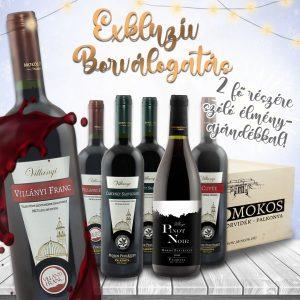 MOKOS_Karácsonyi_Borcsomagok_2020_EXKLUZIV_1080x1080_villanyi_borok_cabernet_franc_sauvignon_pinot_noir_d_cuvee